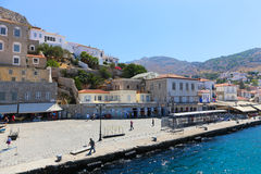 Hydra island - Greece islands Royalty Free Stock Images