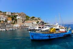 Hydra island - Greece islands Royalty Free Stock Image