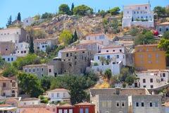 Hydra island in Greece Royalty Free Stock Photos