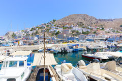 Hydra island in Greece Stock Photography