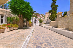 Hydra island Greece Stock Photo
