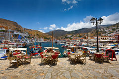 Hydra island. Royalty Free Stock Photography
