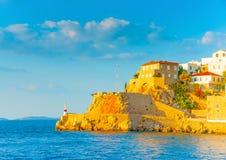 Hydra island Royalty Free Stock Image