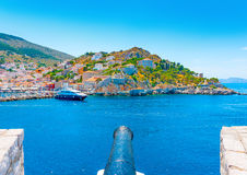 Hydra island Royalty Free Stock Photos