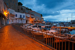 Hydra island. Royalty Free Stock Images