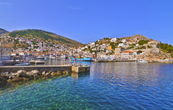 Hydra island Saronic Gulf Greece Royalty Free Stock Photos