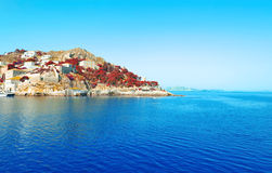 Hydra island Saronic Gulf Greece Stock Image