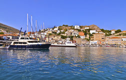 Hydra island Saronic gulf Greece Stock Photography