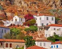 Hydra island town, Greece Stock Photos