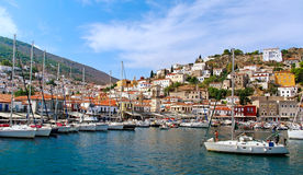Hydra island. Stock Photos