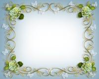 Hydrangea et guindineaux Image stock