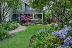 Hydrangea House Royalty Free Stock Photo