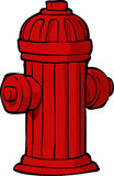 Hydrant. On a white background vector stock illustration