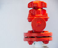 Hydrant auf einem Schiff Lizenzfreie Stockfotos