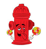 Hydrant cartoon Stock Photos