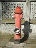 Hydrant des roten Feuers Stockbilder