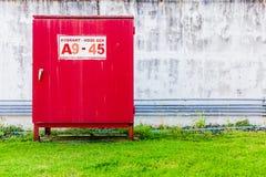 Hydrant hose box Royalty Free Stock Photography