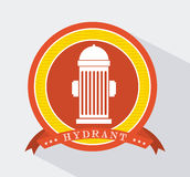 Hydrant icon Stock Photography