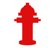Hydrant icon illustrated. On a white background Stock Photos