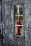 Hydrant reflection stock image