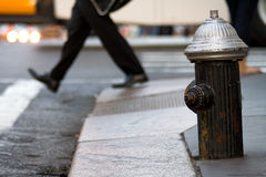Hydrant on the street. Stock Images