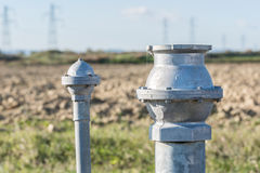 Hydrant to irrigate Royalty Free Stock Photos