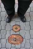 hydrant woda Fotografia Royalty Free