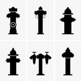 Hydrants. Available in high-resolution and several sizes to fit the needs of your project Royalty Free Stock Photos