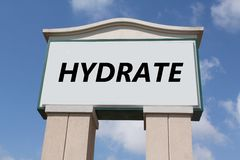 Hydrate Stock Photo
