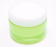 Hydrating Face cream. This is a Hydrating Face cream in glass pot Royalty Free Stock Photos
