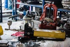 Hydraulic calibrate stock photos