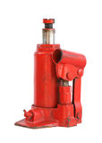 Hydraulic car jack Royalty Free Stock Images