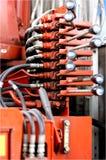 Hydraulic Control Stock Image