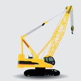 Hydraulic crawler crane Stock Images