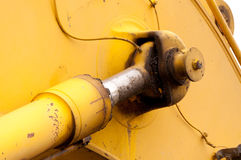 Hydraulic Cylinder Royalty Free Stock Photo