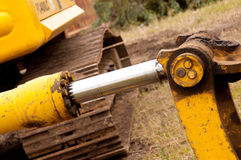 Hydraulic Cylinder Royalty Free Stock Image