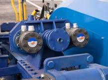 Hydraulic Cylinders on Lifting Bridge, Stock Photography