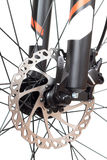 Hydraulic disc brakes Stock Images