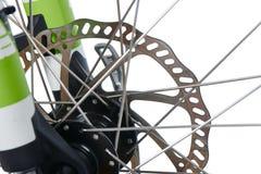 Hydraulic disk brake rotor of MTB Royalty Free Stock Photo