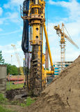 Hydraulic drilling machine. Stock Image