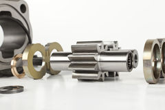 Hydraulic engine Stock Photos