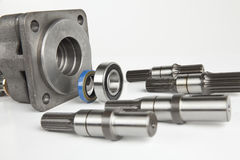 Hydraulic engine Royalty Free Stock Photography