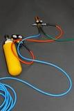 Hydraulic equipment Stock Image