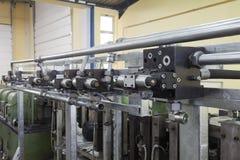 Hydraulic equipment Royalty Free Stock Image