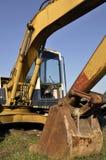 Hydraulic excavator Stock Images