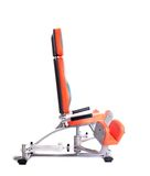 Hydraulic exerciser. Isolated on white Stock Photography
