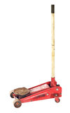 Hydraulic floor jack Stock Photo