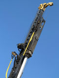 Hydraulic hammer for piling Stock Images