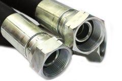 Hydraulic hoses Royalty Free Stock Photo