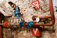 Hydraulic installation Royalty Free Stock Photography